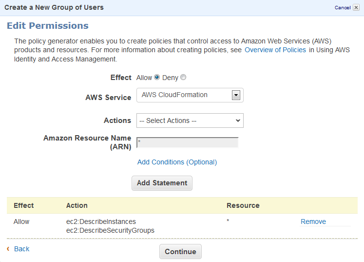 How-To: Creating AWS EC2 ReadOnly Credentials with IAM | Elastic