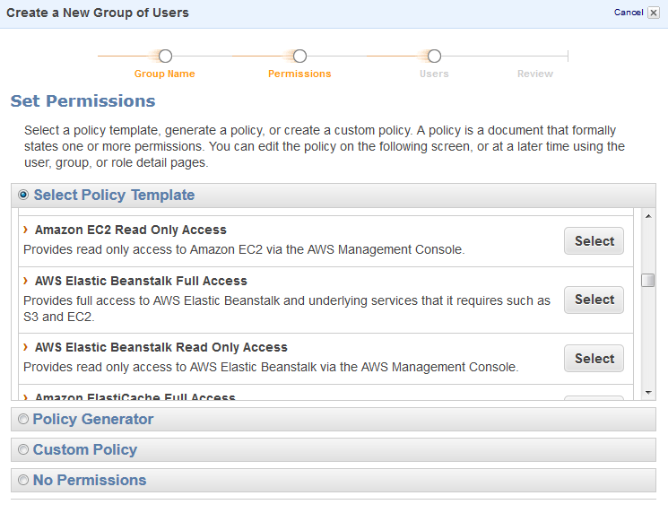 How-To: Creating AWS EC2 ReadOnly Credentials with IAM